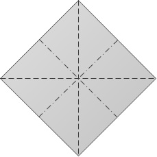 Crease Pattern for the Preliminary Fold