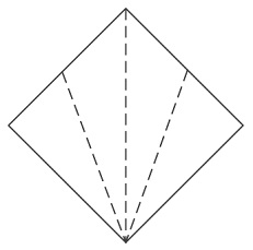 Kite Base Crease Pattern