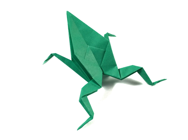 Origami Frog Easy