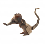 Origami Rat, designed by Eric Joisel