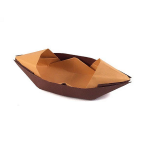 Traditional Origami Sampan