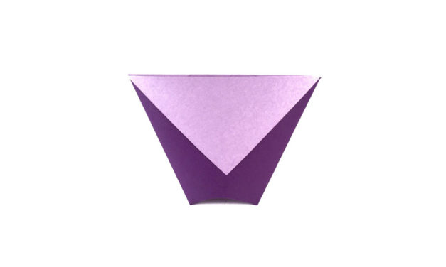 Traditional Origami Cup