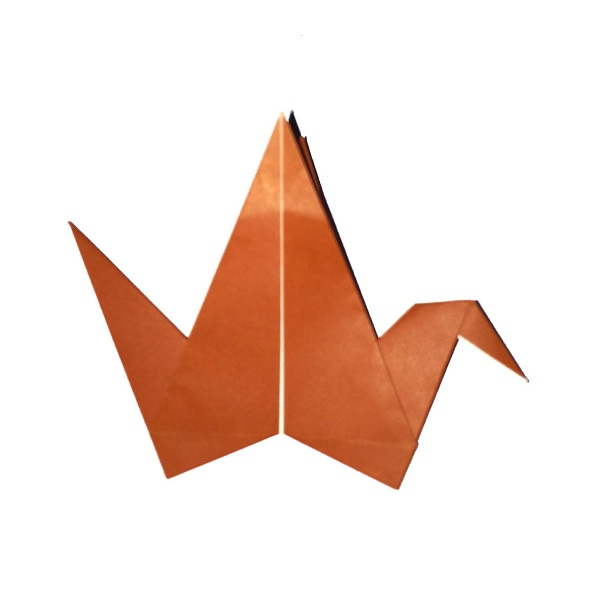 Origami Crane folding instructions (With images) | Origami crane ... | 600x600