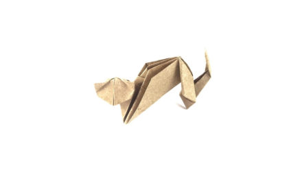 Easy Origami Cat, by Toshie Takahama