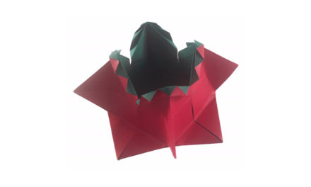 Traditional Fancy Origami Box