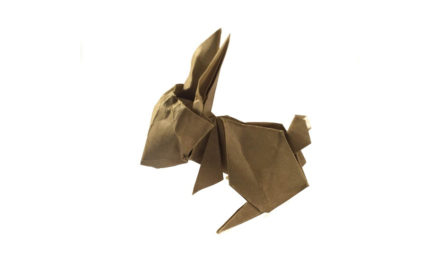 Origami Rabbit, by Jun Maekawa