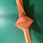 The base for Eric Joisel's Origami Dwarf