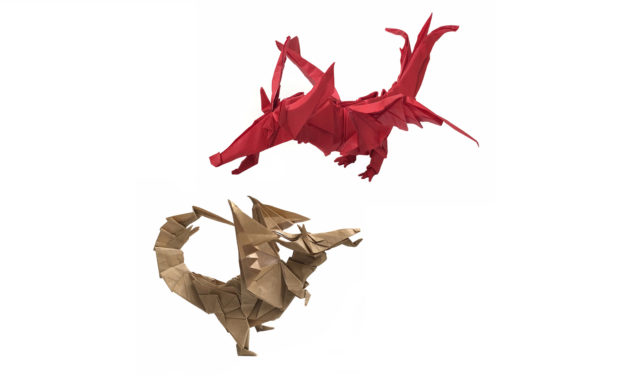 Choose your Origami Dragon!