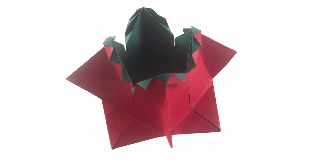 An Origami Decorative Box For Rings And Things Origami Expressions