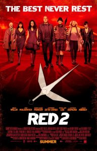 Poster for the film RED2