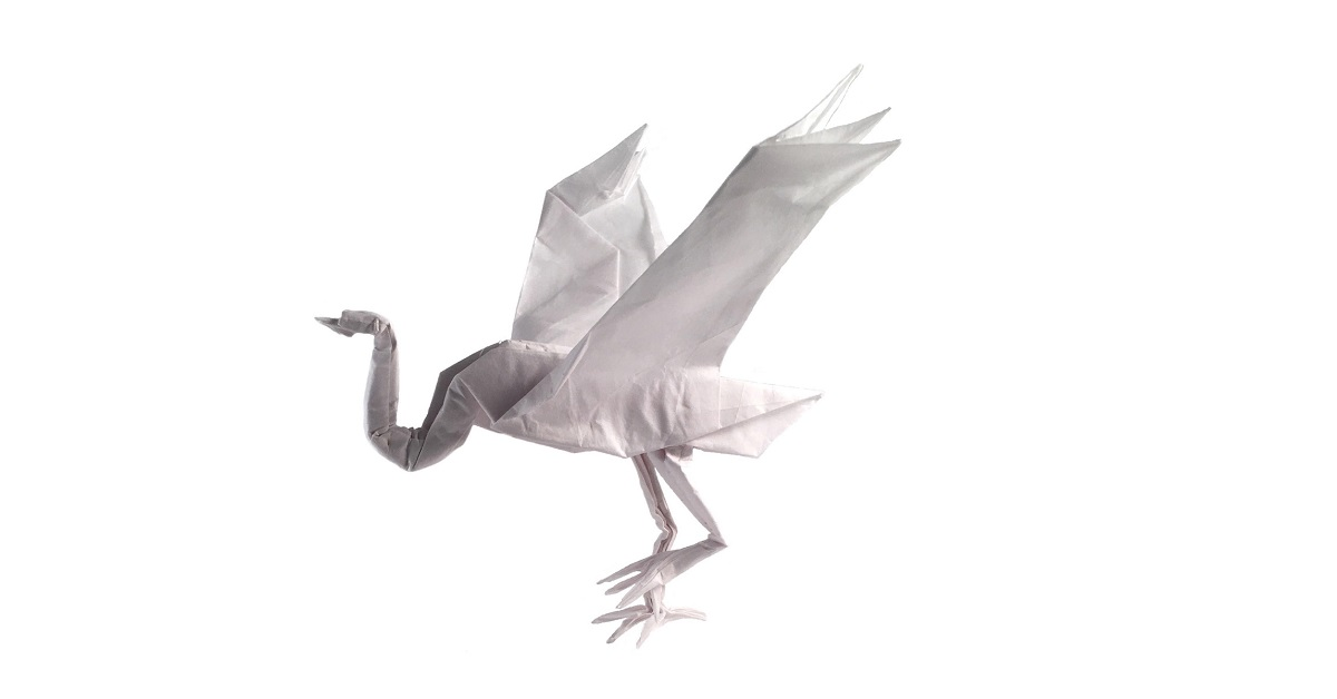 Taking the Origami Crane to Another Level