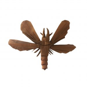 """Dobsonfly, by Brian Chan """"Origami Dobsonfly"""" origamiexpressions.com"""