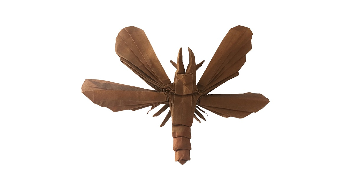 Origami Dobsonfly