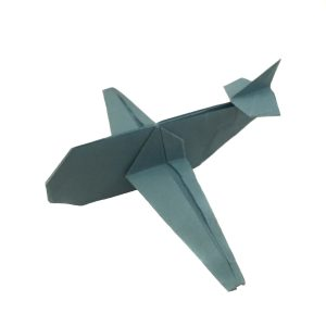 """Origami Airplane designed by Jo Nakashima """"Up, Up, and Away with an Origami Aeroplane"""" origamiexpressions.com"""