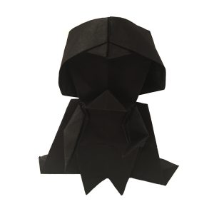 "Tadashi Mori's Origami Darth Vader ""An Origami Darth Vader for Star Wars Day"" origamiexpressions.com"