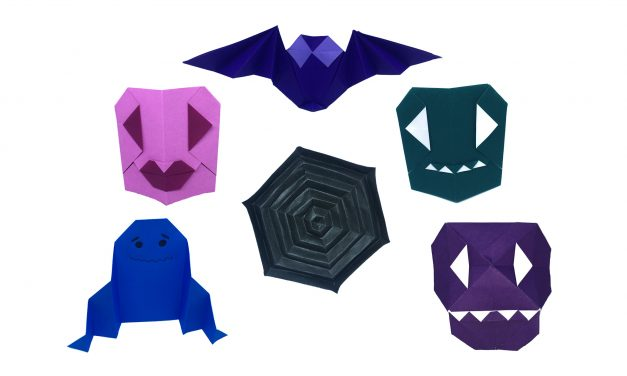 Easy Origami for Halloween – and a free competition!