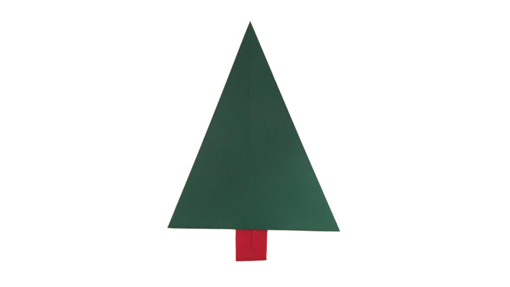An Easy Traditional Origami Christmas Tree Origami Expressions