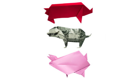 Three Little Origami Pigs