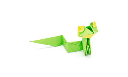 An Easy Origami Snake by Gen Hagiwara