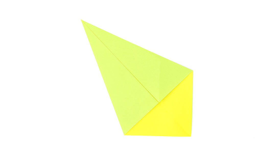 kite base used to make origami snake