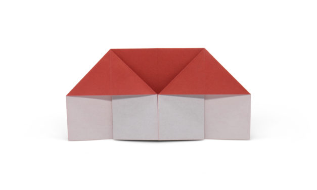 Traditional Origami House and Furniture