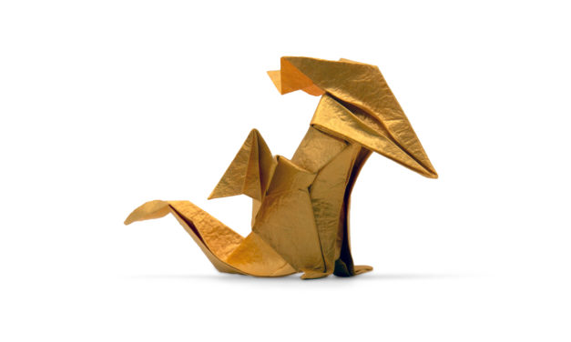 Origami Baby Dragon by Daniela Carboni
