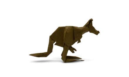 A Mob of Origami Kangaroos to Fold