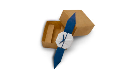 Time to Fold an Origami Watch
