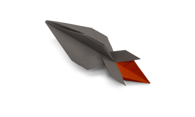 Origami Rockets You Can Fold in 10 Minutes