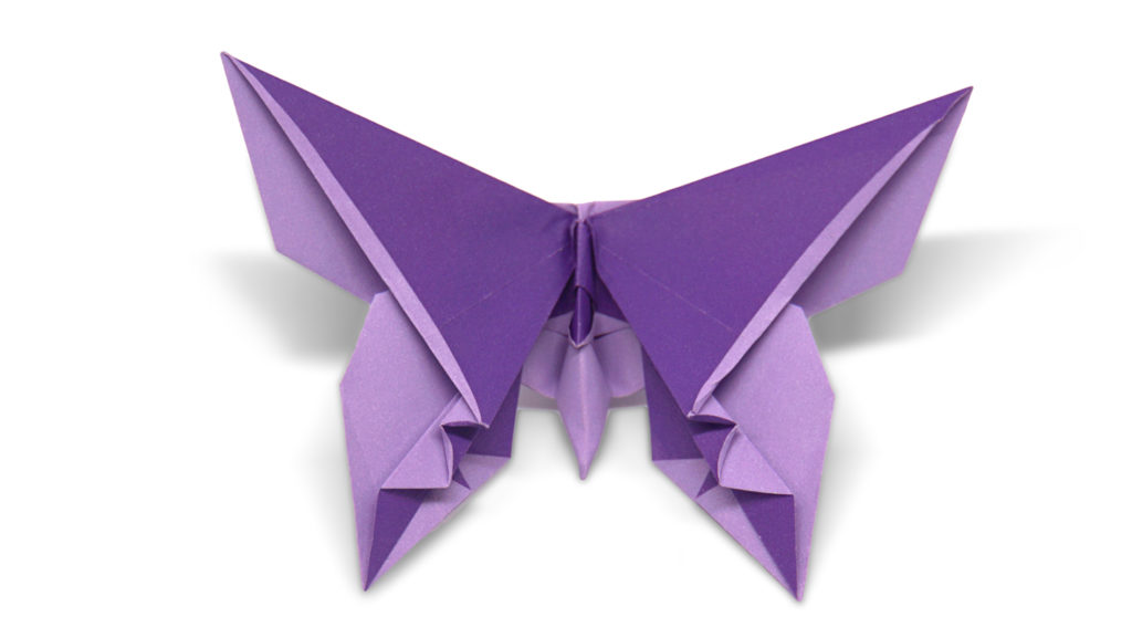 carriage house origami butterfly