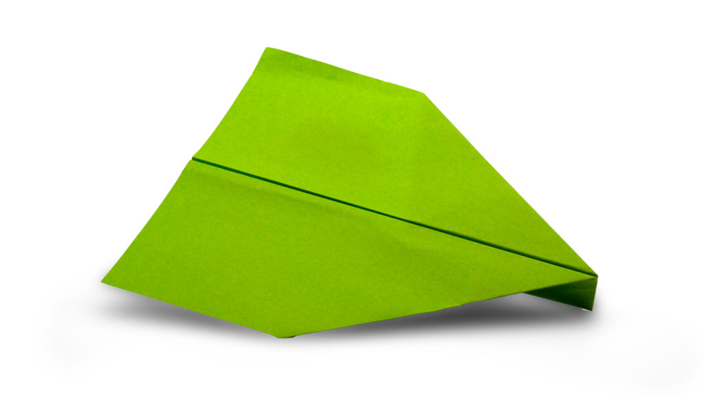 paper airplane model from the awesome paper airplane book for kids